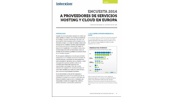 proveedores cloud_interxion