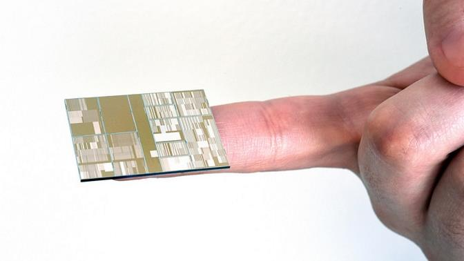 Chip de 7 nanometros
