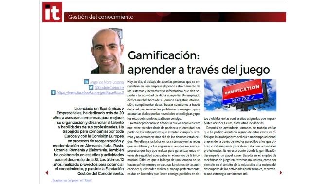 Captura gestion del conocimiento IT User 5