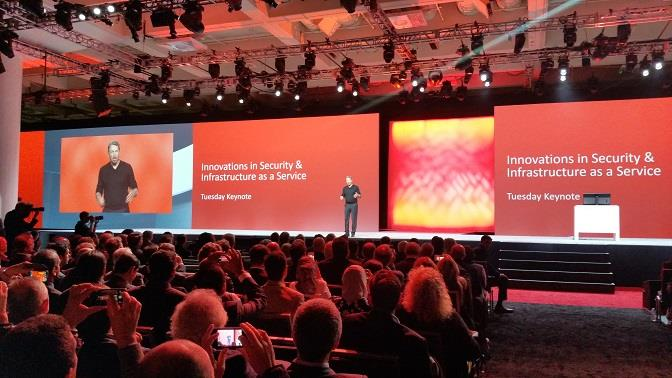 Larry Ellison tercer d�a Oracle OpenWorld