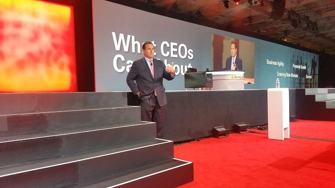 Mark Hurd en el OpenWorld 2015