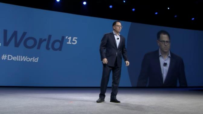 Michael Dell en DellWorld 2015