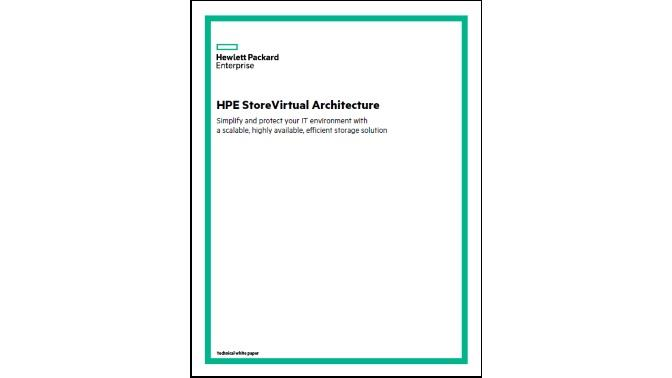 WP_HPE StoreVirtual Architecture