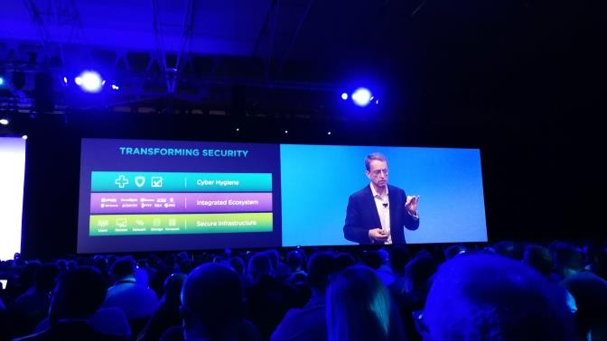 Gelsinger en VMworld Europe 17