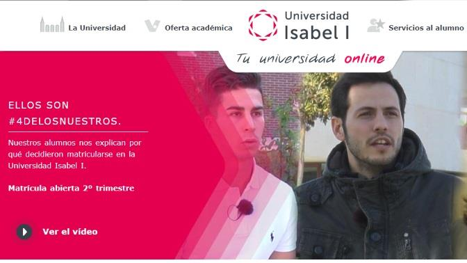 Isabel I universidad