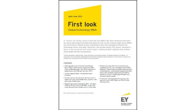 M&A sector tecnologico_EY