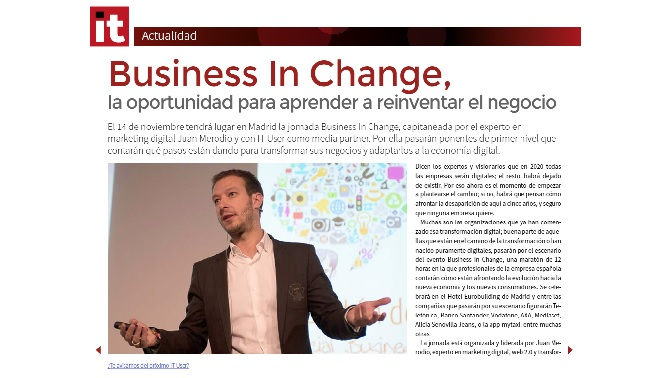 Business in Change IT User 5