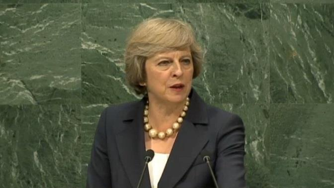 Theresa May ONU