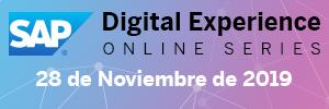 SAP Digital Experience Online Series http://bit.ly/SAPDigitalExperience