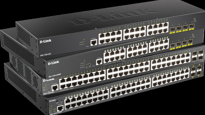 D-Link Switches Smart Pro DGS-1250