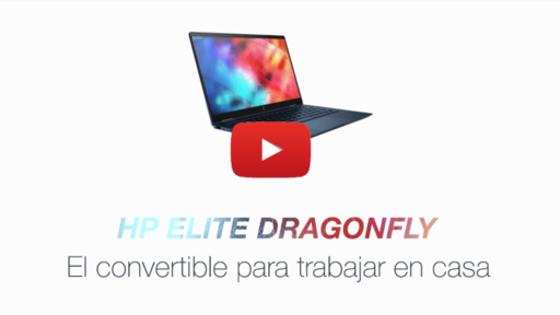 HP Dragonfly video movilidad